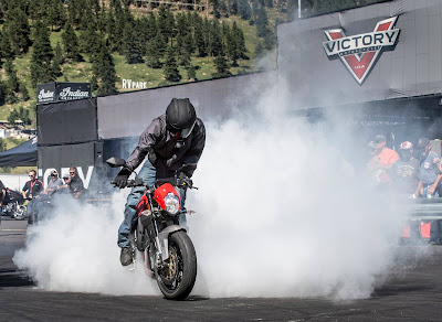 victory empulse tt burnout