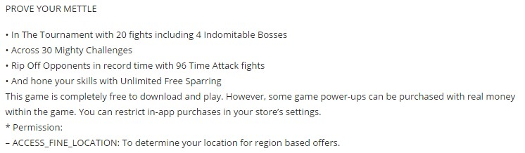 Real steel champions game details