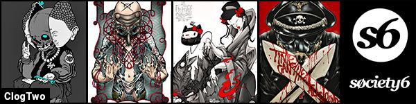 ClogTwo aka Eman Jeman - Society6 art prints banner