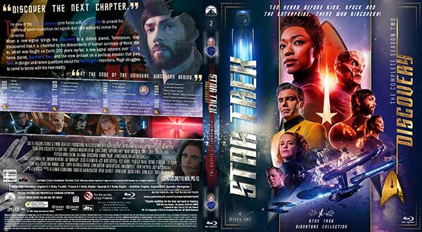 Star Trek: Discovery Season 2 DVD Cover