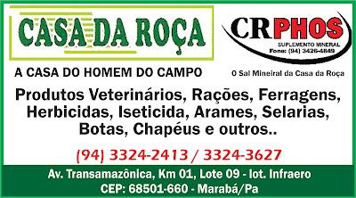 CASA DA ROÇA - MARABÁ/PA - VEJA NOSSOS PRODUTOS....