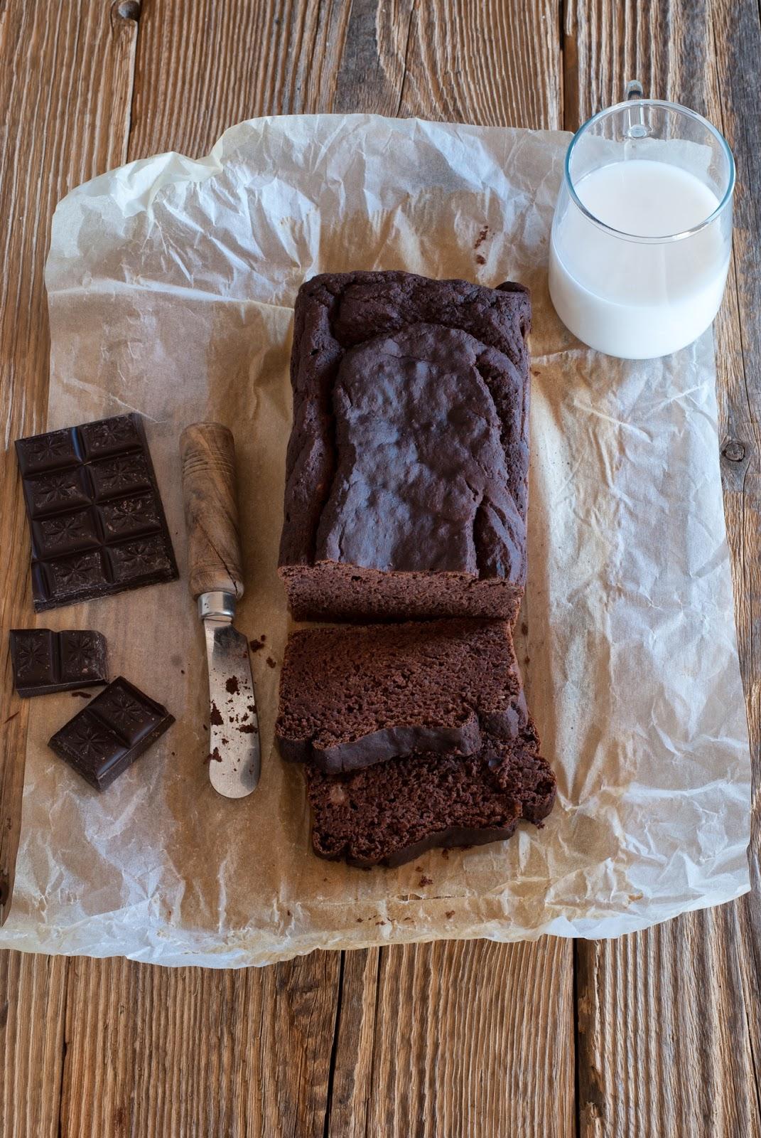 Fasolowe ciasto czekoladowe bez glutenu