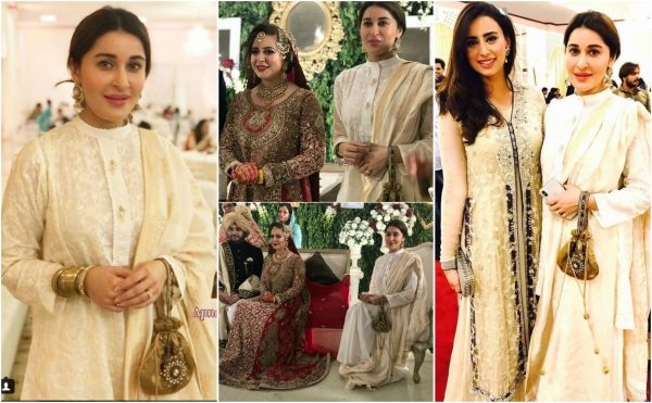 Gorgeous Shaista Lodhi at Rabia Anum's Wedding Event