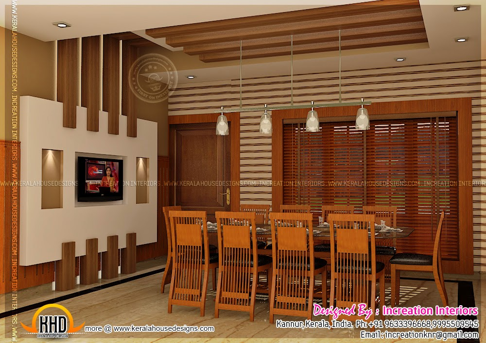 January 2014 kerala home design and floor plans for Normal home interior design