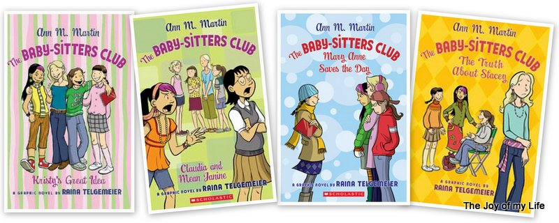 The Babysitters Club Graphic Novels Raina Telgemeier