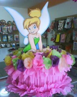 Piñatas Tinkerbell, parte 3