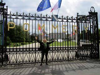Pat Dunlap Pommery Gate Happy Champagne Heaven Reims France