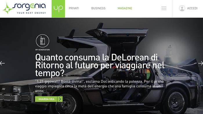 sorgenia up web magazine
