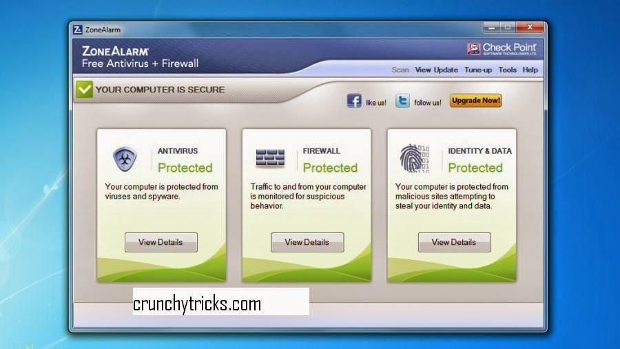 ZoneAlarm Free Antivirus+ Firewall