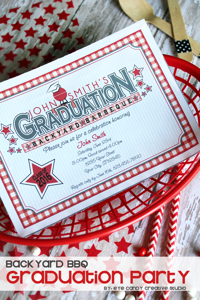 gradution party, graduation BBQ, graduation cookout, high school graduation