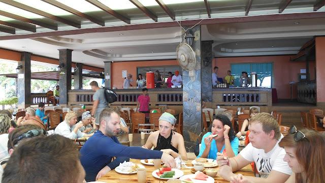 обед на острове