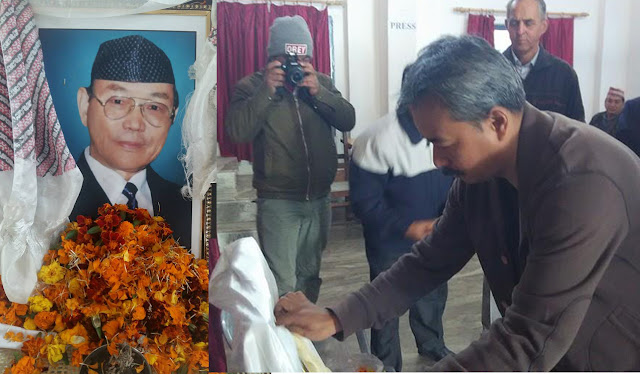 Bhartiya Gorkha Parisangh pay homage and condolence to  Shri Suraj Man Rai