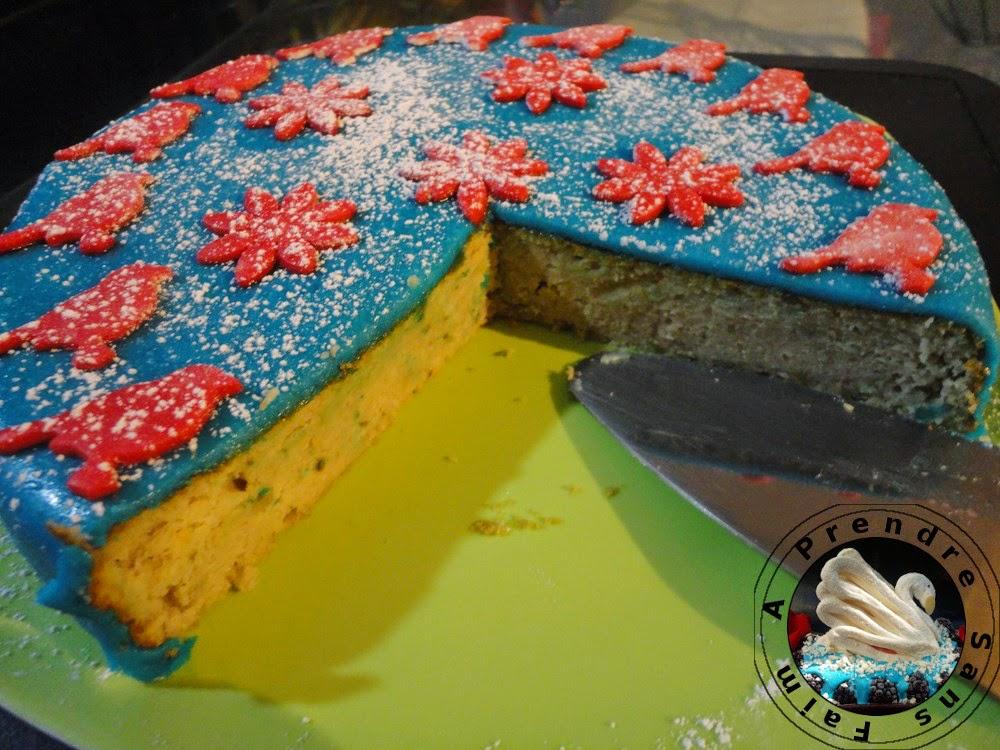 Gâteau fondant à la crème de marrons