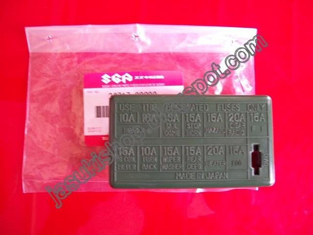 Suzuki Katana Fuse Box Wiring Diagram