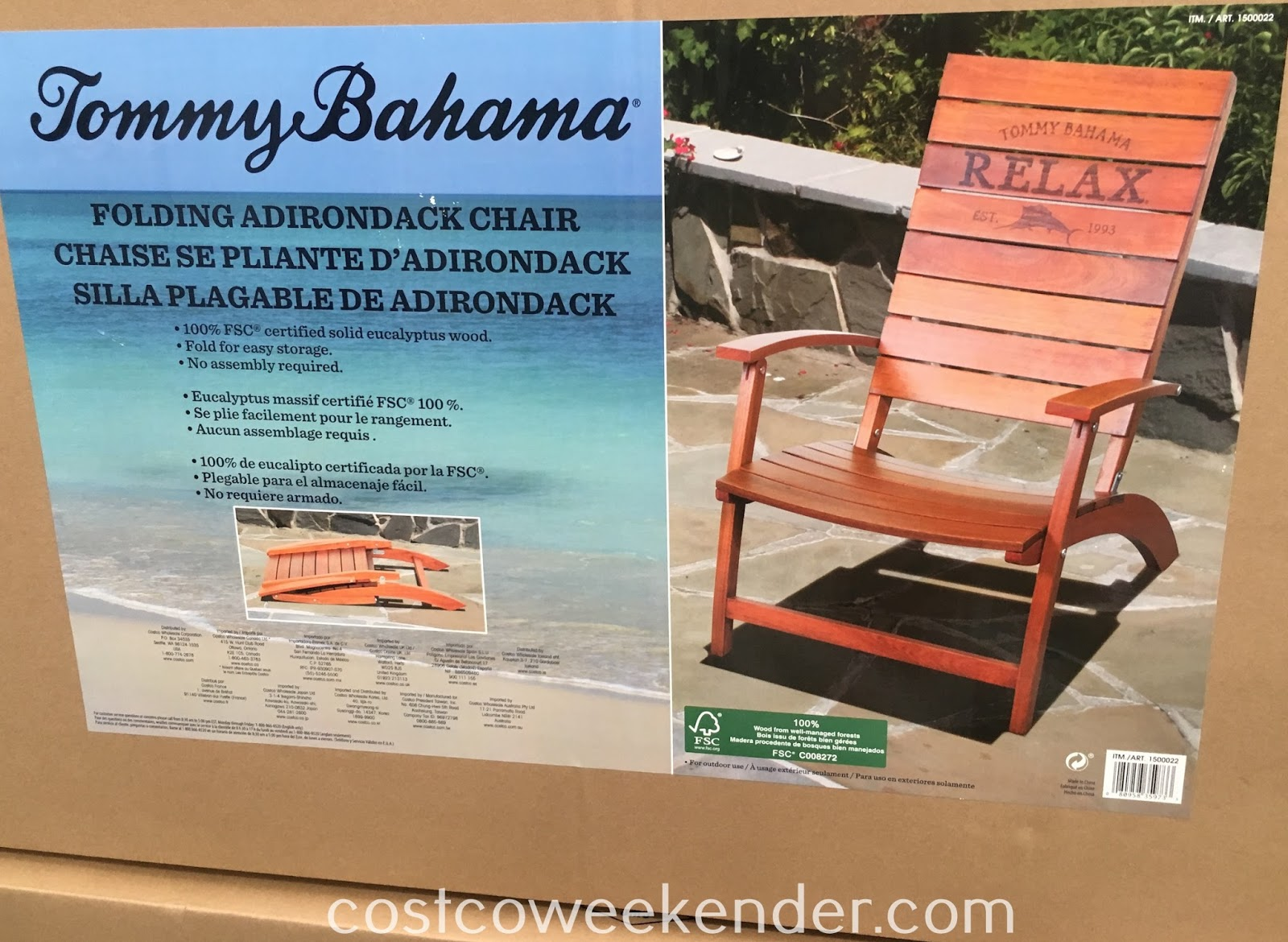 Costco Adirondack Chairs Tommy Bahama Folding Adirondack Chair Costco Weekender