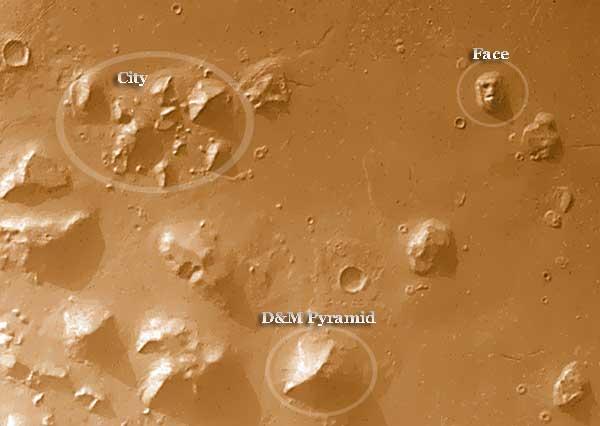 La propuesta de la ciudad marciana