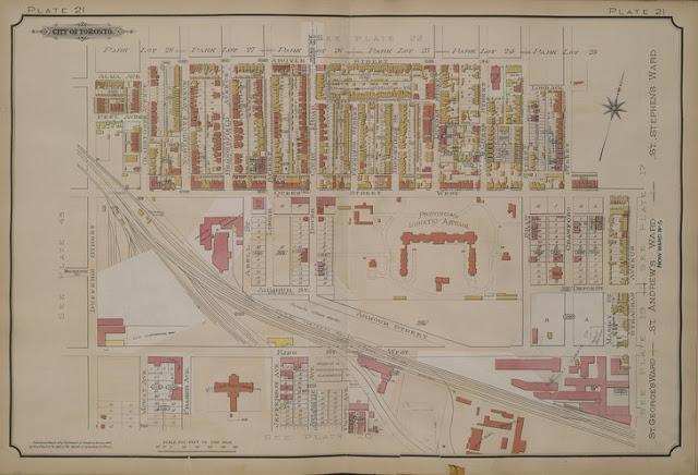 Plate 21, Goad's Atlas of the City of Toronto, 1903