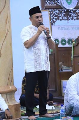 Pemkab Labuhanbatu kunjungi Masjid Nurul iman Tebing Linggahara Giat Safari Ramadhan ke Dua