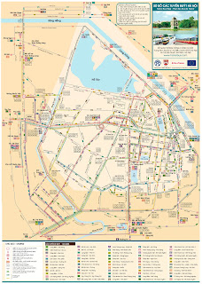 Lineas de autobuses de Hanoi