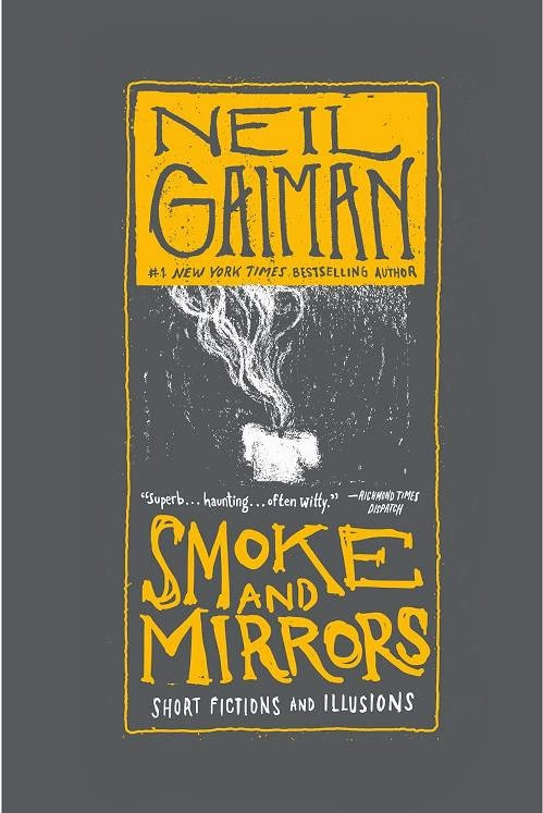 Smoke and Mirrors by Neil Gaiman – Front Cover