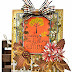 Fall Leaves, Garden Gate and Chrysanthemums Card: Guest Designer, Kathy Clement