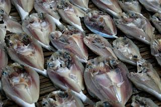 Mengurangi Rasa Kadar Garam Berlebihan Pada Ikan Asin