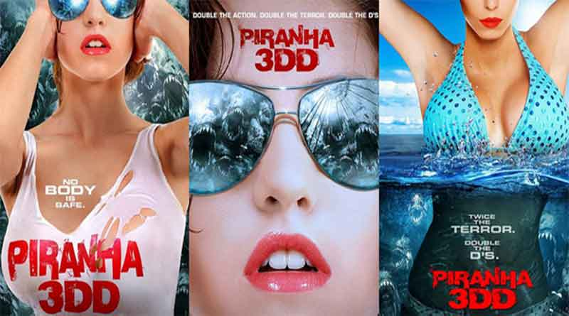 Piranha 3DD 2012 Hindi Dual Audio 720p Full Movie Download