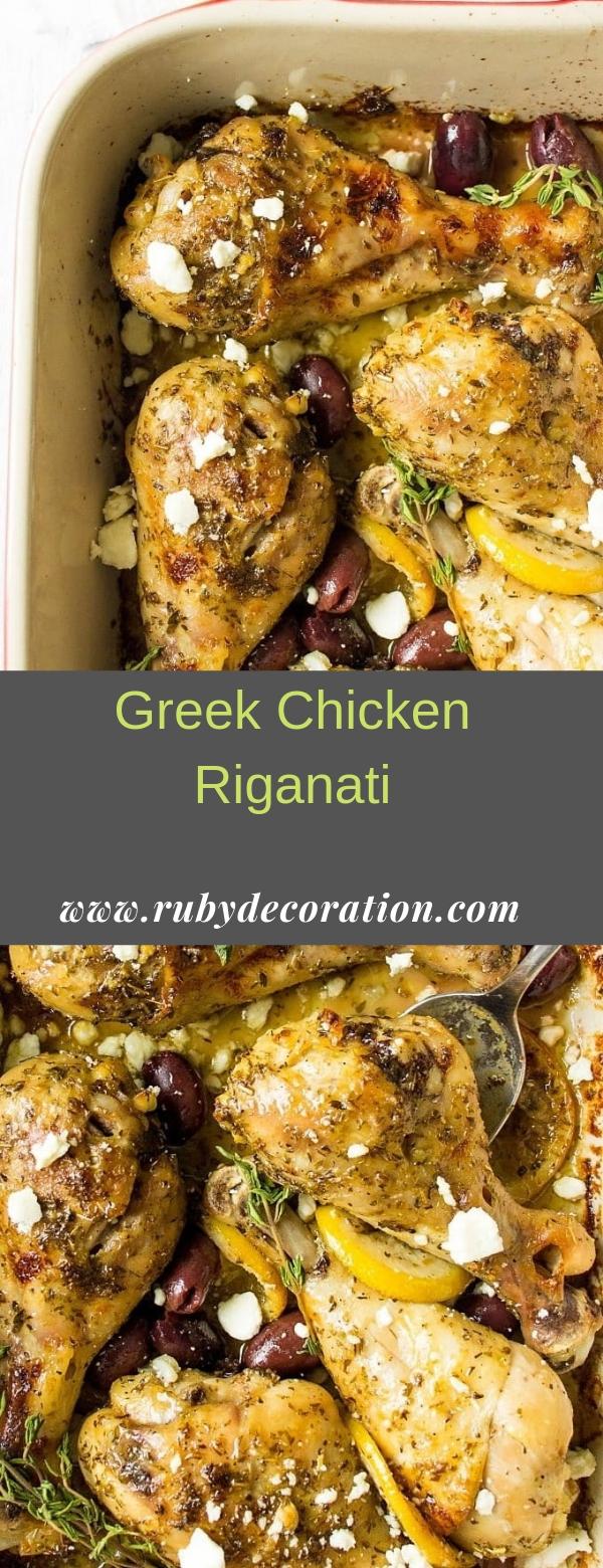 Greek Chicken Riganati