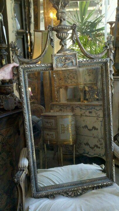 Frameless Bathroom Mirror With Sconces