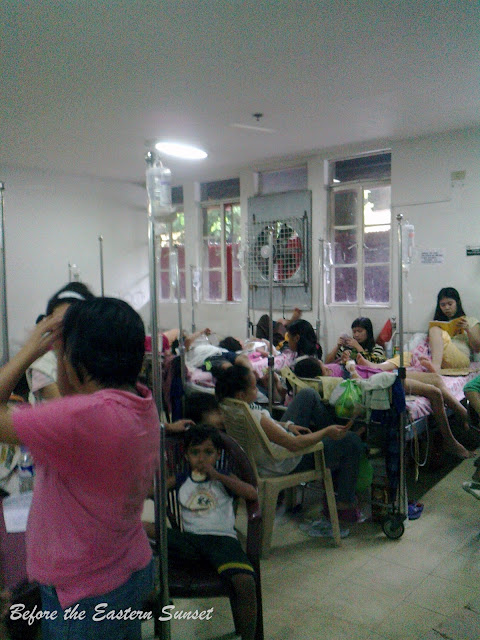 Patients in QMMC Childen's Ward