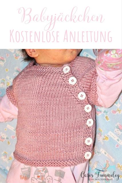 Babyschlüttli stricken mit kostenloser Anleitung