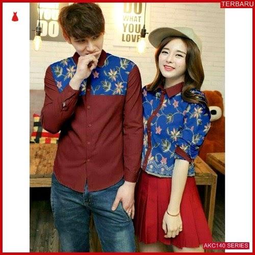 AKC140K52 Kemeja Couple Couple Anak 140K52 Kemeja Hem BMGShop