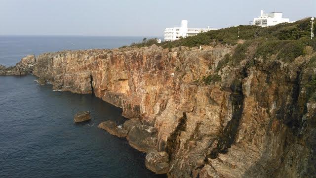 和歌山県の白浜三段壁