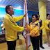 Walikota Didampingi Sekot Tomohon, Lepas Kontingen Porprov Ke-IX Sulut