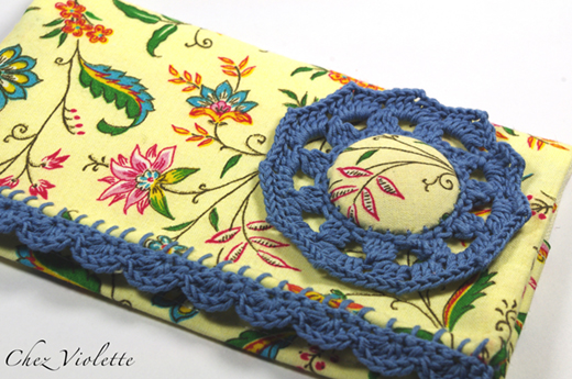 Floral Checkbook Lace by Chez Violette
