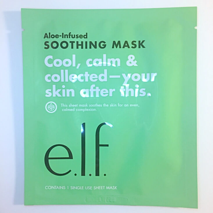 e.l.f. Aloe-Infused Soothing Mask