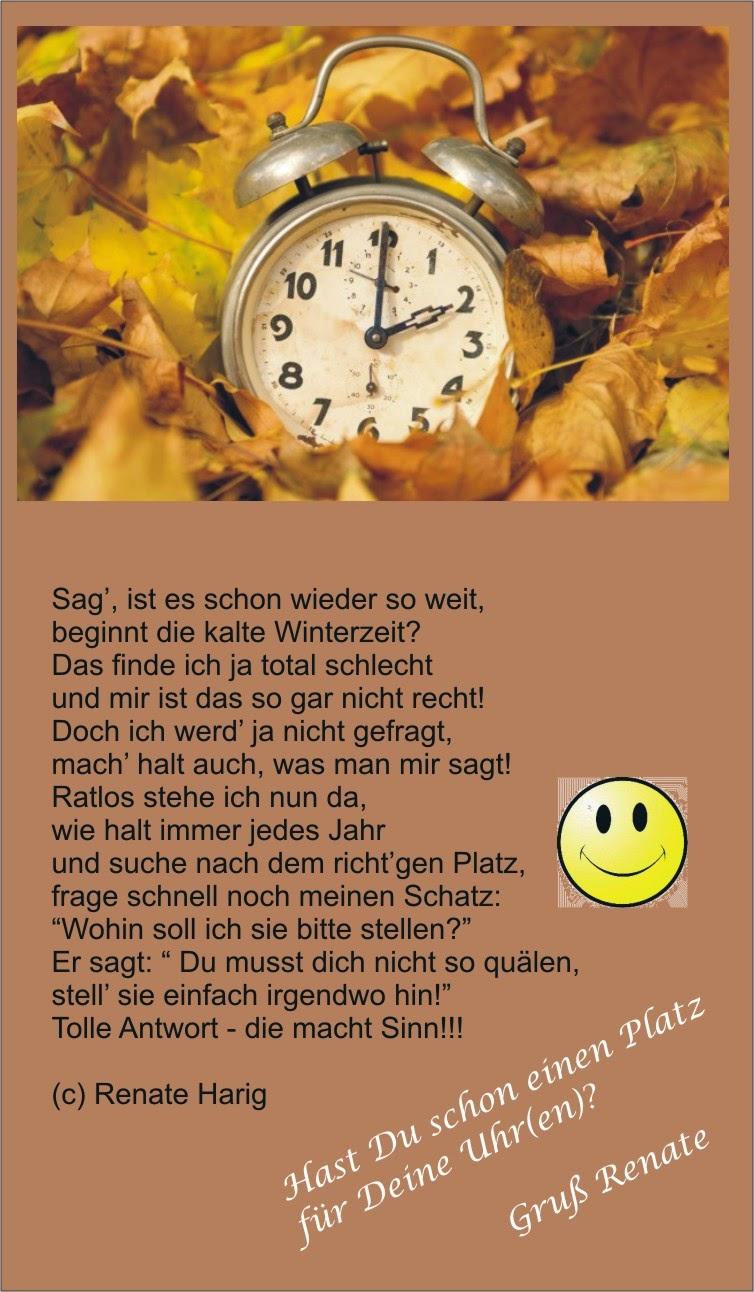 Uhrumstellung Oktober