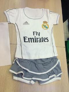 gambar desain terbaru jersey setelan rok bayi gamabr foto photo kamera Jersey setelan rok bayi Real Madrid home terbaru musim 2015/2016 di enkosa sport toko online terpercaya lokasi di tanah abang jakarta pusat