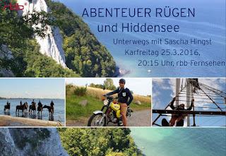 rbb: Sascha Hingst stellt das wunderschöne Rügen und Hiddensee vor