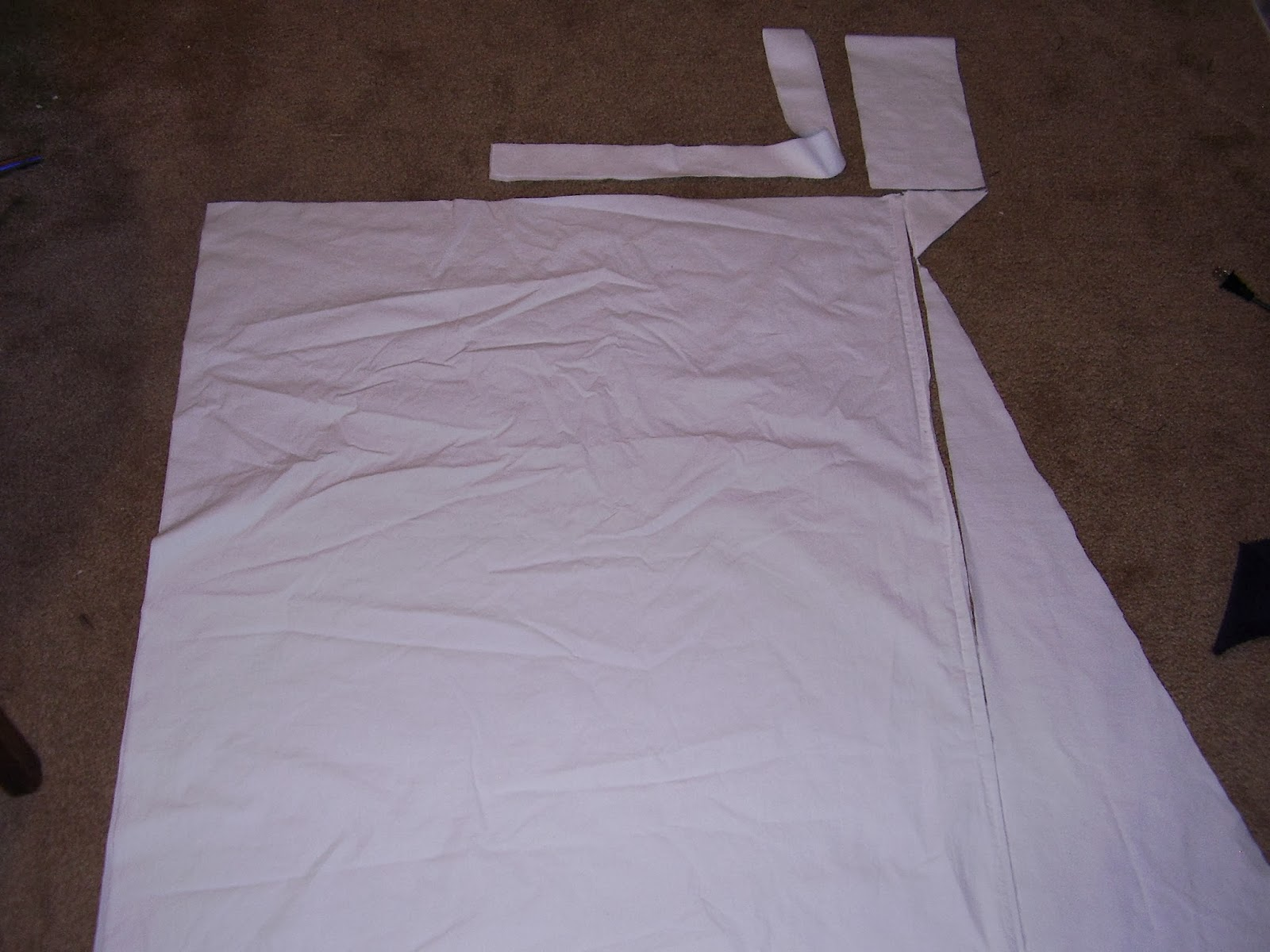 Pieces for regency chemise.