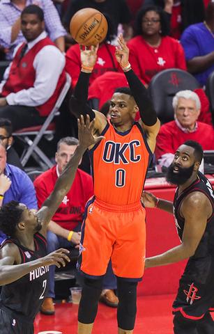 Westbrook en mode Playoffs
