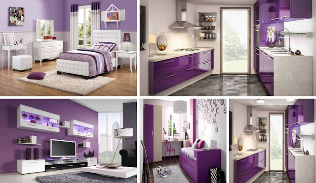 Mesmerizing Purple decor ideas to adds an interesting