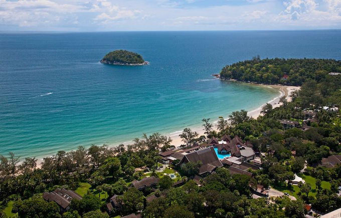 resort in Thailandia, il villaggio club med a Phuket