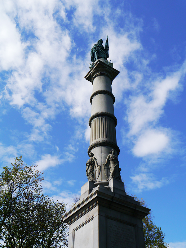 Boston Common statue memorial