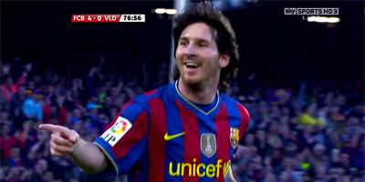 LFP-Week-38 Barcelona 4 vs 0 Valladolid 16-05-2010
