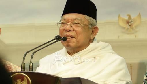 Kiai Ma'ruf Amin Pastikan Kerahkan Semua Kader NU