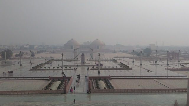 top view of ambedkar park