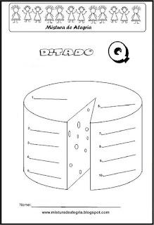 Treino ortográfico letra Q de queijo