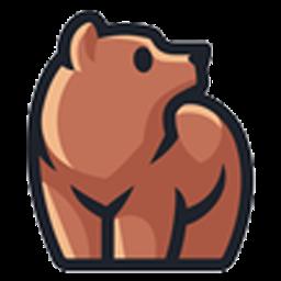 logo beruang lucu