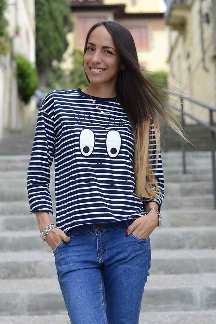 maglietta righe